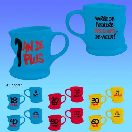 Un mug déformé pour chaque anniversaire