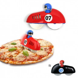 Coupe-Pizza Voiture de Course