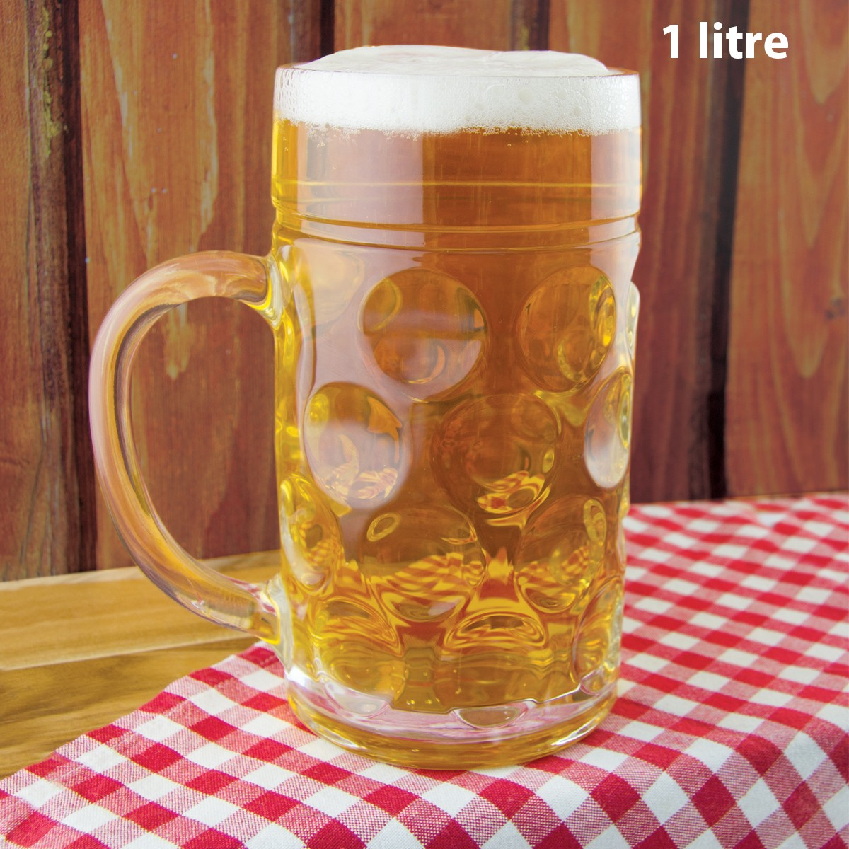 Chope bi re g ante en verre achat cadeau bi re sur rapid - Chope de biere 1l ...
