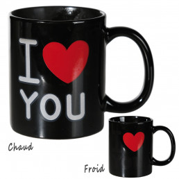 Mug Thermoréactif I Love You
