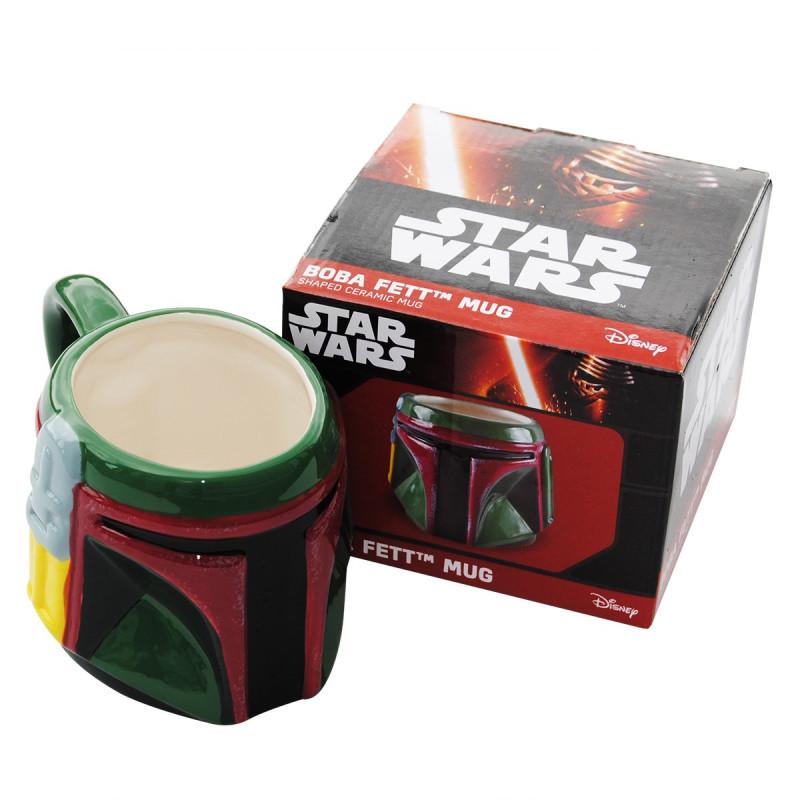 Vrais Sur Boba Rapid Pour Fans Fett Mug Star Wars Un 3d Les RLq4Ajc35S
