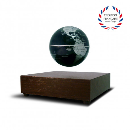 globe terrestre l vitation avec base en bois sur rapid cadeau. Black Bedroom Furniture Sets. Home Design Ideas