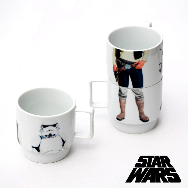 Tasses empilables star wars achat cadeau geek star wars - Cadeau star wars adulte ...