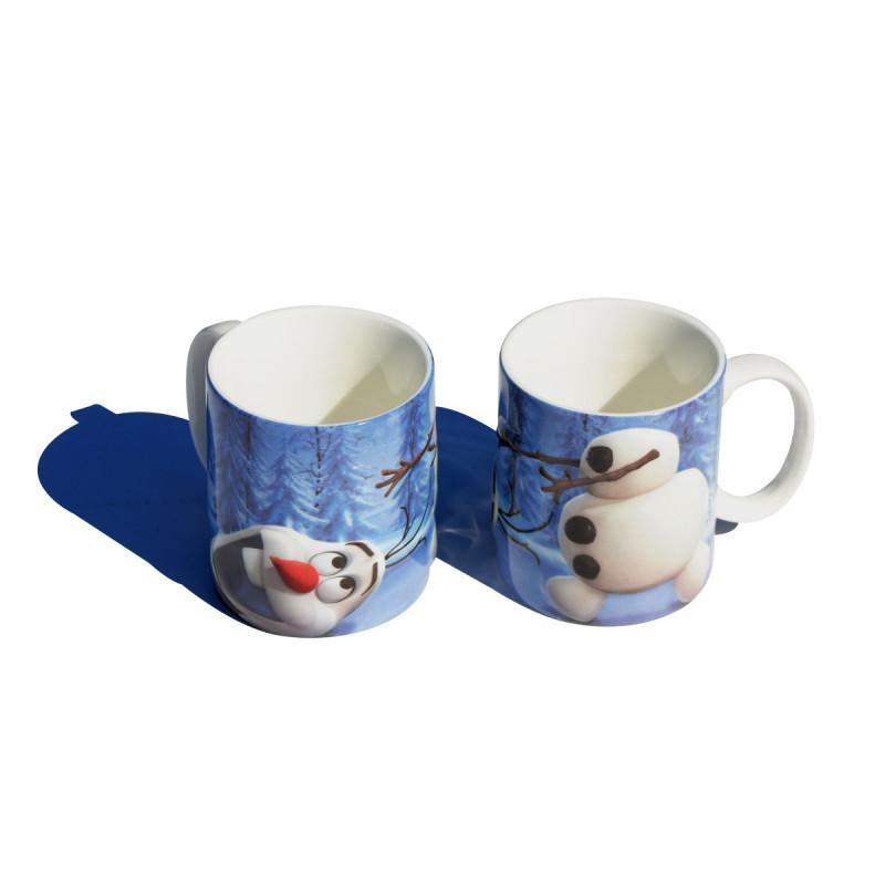 un mug 2d olaf la reine des neiges pour un cadeau. Black Bedroom Furniture Sets. Home Design Ideas