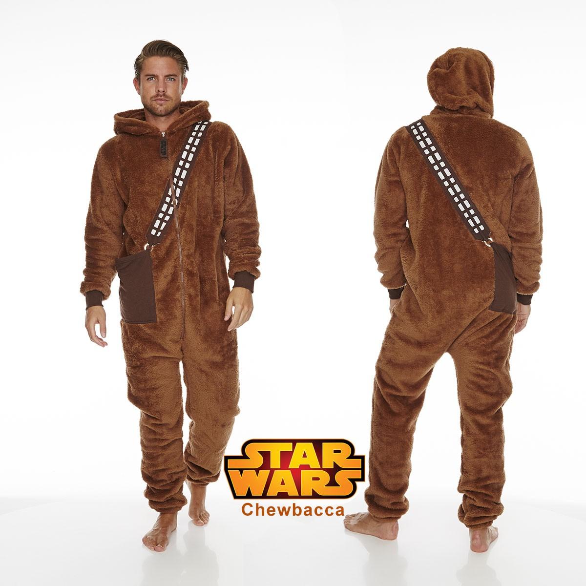 pyjama star wars l 39 effigie de chewbacca sur rapid cadeau. Black Bedroom Furniture Sets. Home Design Ideas