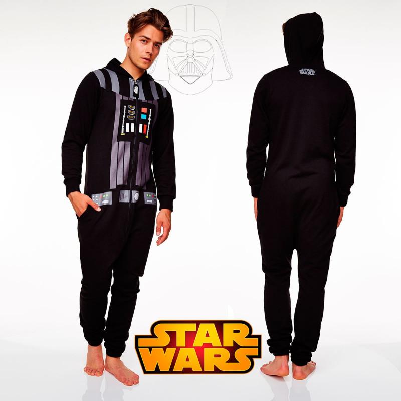 magasin en ligne 63b07 59512 Combinaison pyjama Dark Vador Star Wars pour adulte sur ...