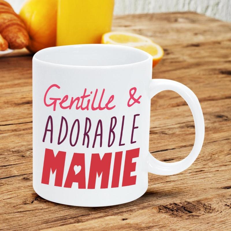 Mug humoristique pour faire un cadeau pour mamie sur rapid cadeau - Idee cadeau pour mamie ...