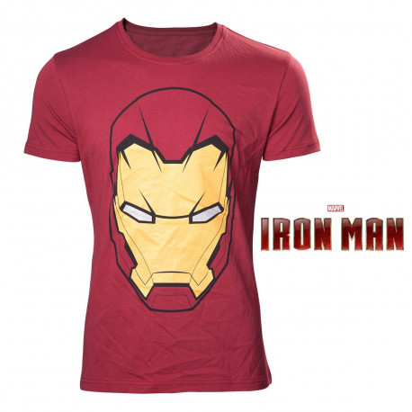 T-Shirt Masque Iron Man Marvel