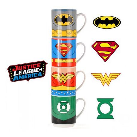 Tasses Empilables Justice League