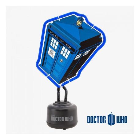 Lampe Néon Tardis Dr Who