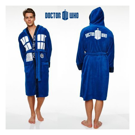 Peignoir Tardis Dr Who