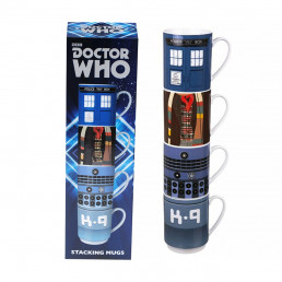 Tasses Empilables Dr Who