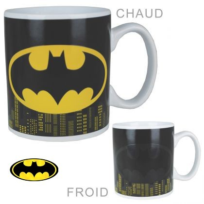 Illustration mug thermoréactif Batman