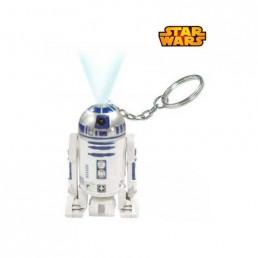Porte-Clés Star Wars R2D2 Torche Laser