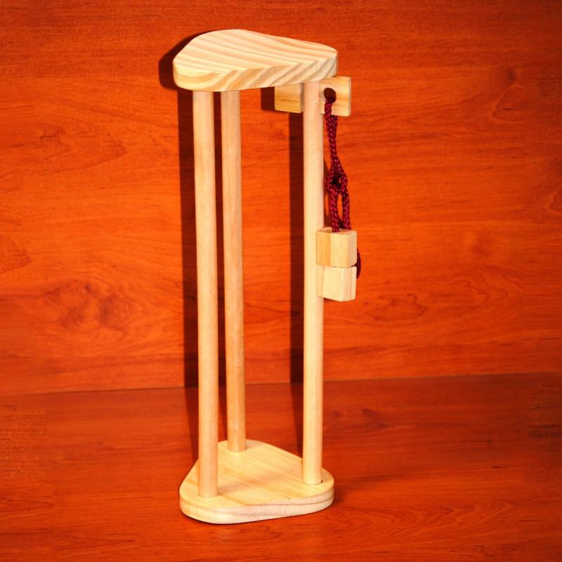 casse t te bouteille de vin en bois de h tre la tour sur rapid cadeau. Black Bedroom Furniture Sets. Home Design Ideas