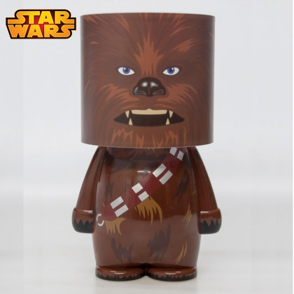 lampe star wars design l 39 effigie de chewbacca sur rapid. Black Bedroom Furniture Sets. Home Design Ideas