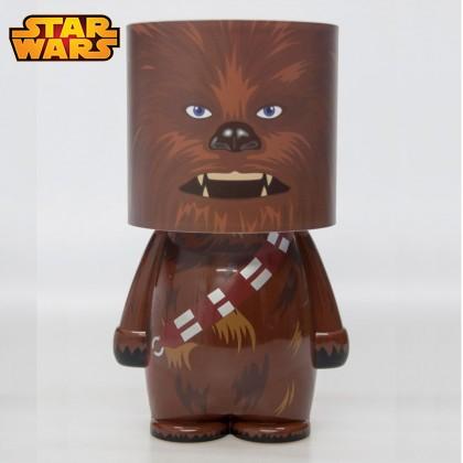 lampe star wars design l 39 effigie de chewbacca sur rapid. Black Bedroom Furniture Sets. Home Design Ideas