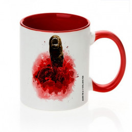Mug Alien Chestburster Rouge