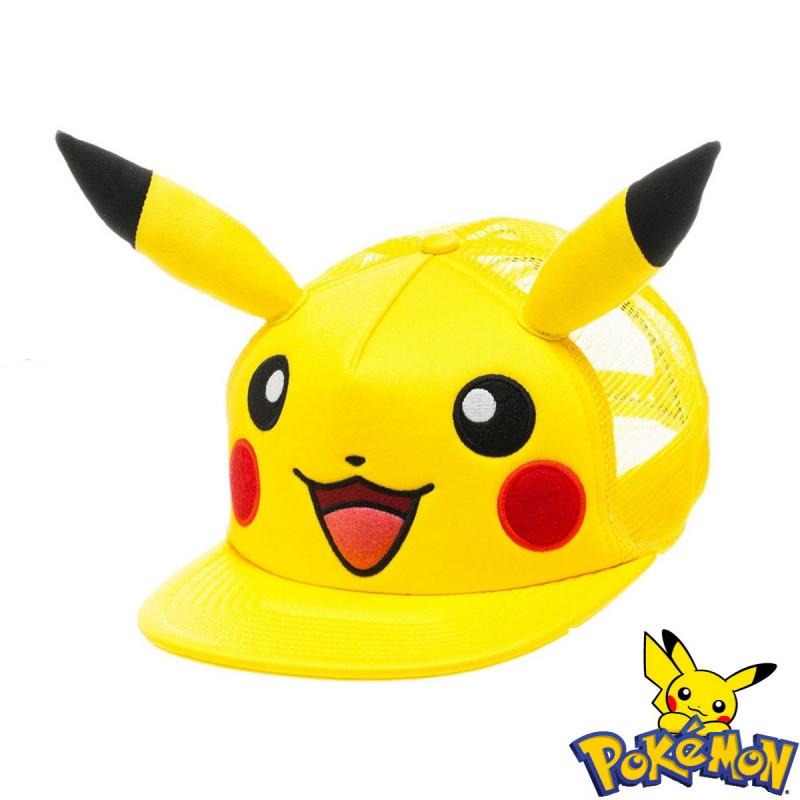 Idée De Cadeau Pour Fille De 12 Ans.Casquette Pokémon Pikachu Avec Oreilles