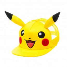 Casquette Pokémon Pikachu avec Oreilles