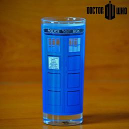 Set de Deux Verres Dr Who - Dalek et Tardis