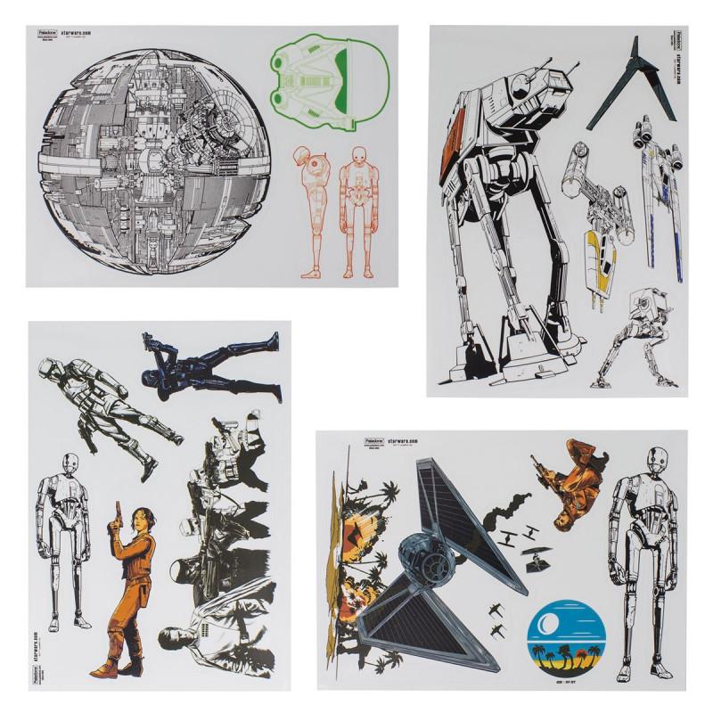 Autocollants pc portable star wars rogue one sur rapid cadeau for Autocollant mural star wars