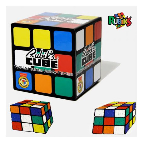 lot de deux puzzles rubik 39 s cube achat cadeau rubik 39 s cube sur rapid. Black Bedroom Furniture Sets. Home Design Ideas