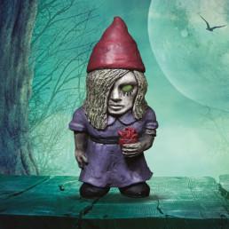 Mini Nains de Jardin Zombies - Lot de 3