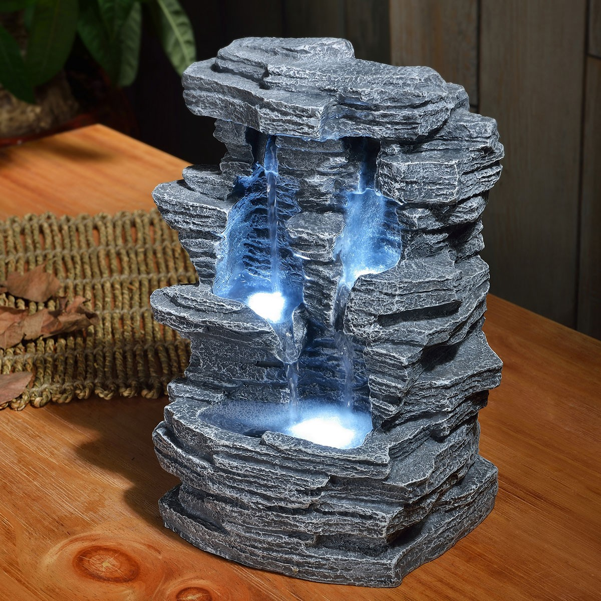 Fontaine d corative int rieur en forme de grand canyon sur rapid cadeau - Fontaine d appartement zen ...