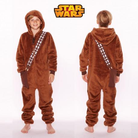 957ce89edfdfe Pyjama Star Wars pour enfant à l'effigie de Chewbacca sur Rapid-Cadeau