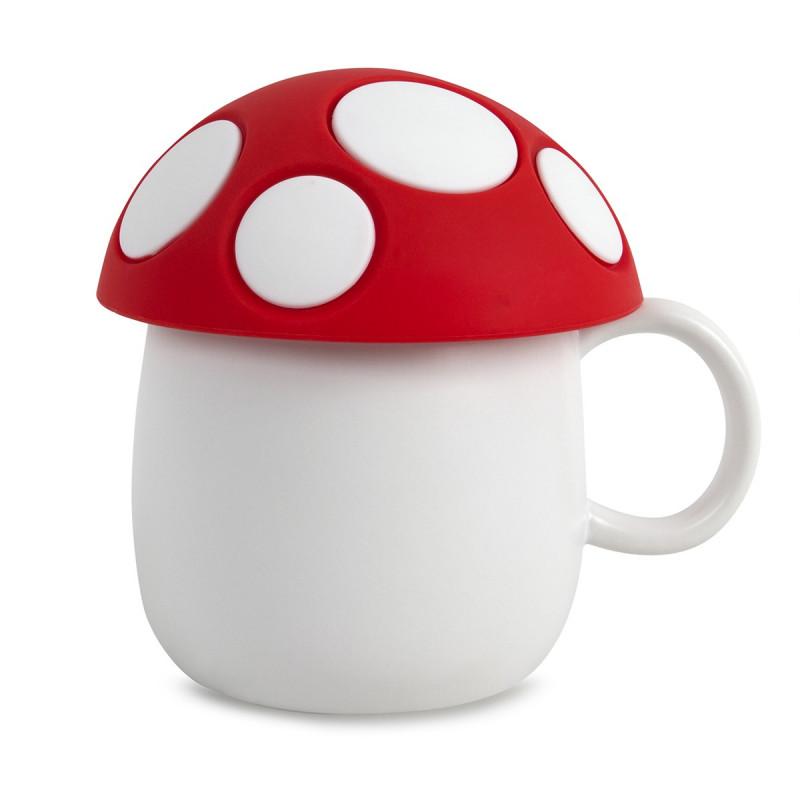 tasse caf originale en forme de champignon sur rapid cadeau. Black Bedroom Furniture Sets. Home Design Ideas
