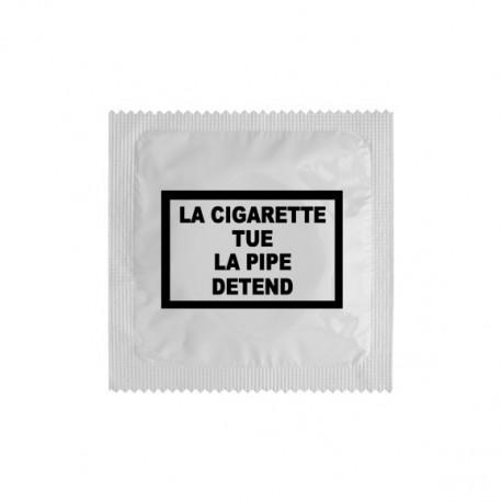 Préservatif La cigarette tue