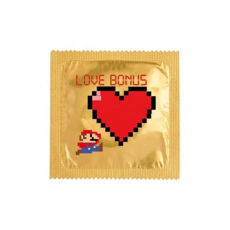Préservatif Mario Love bonus