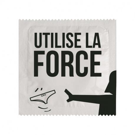Préservatif Utilise la force