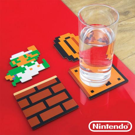 Lot de 20 Sous-Verres Nintendo Super Mario Bros