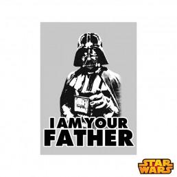 Magnet Métallique Star Wars - I am Your Father