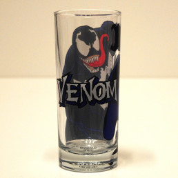 Verres Spiderman & Venom - Lot de 2