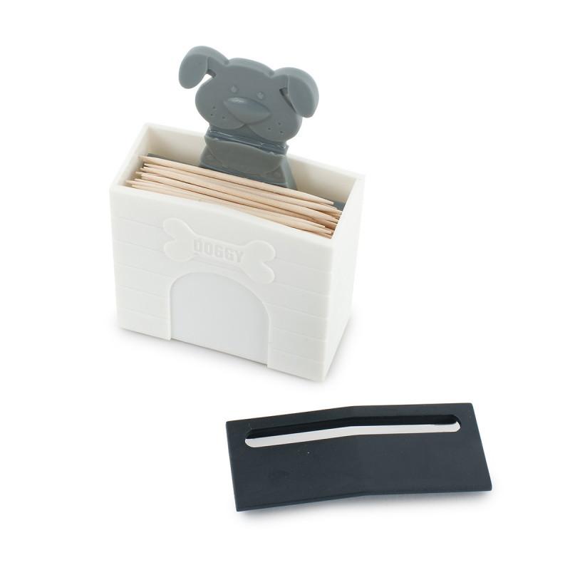 porte cure dents original en forme de niche de chien sur rapid cadeau. Black Bedroom Furniture Sets. Home Design Ideas