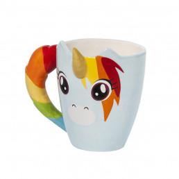 Mug Licorne Arc-en-Ciel 3D