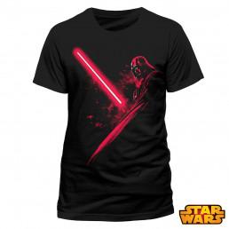 T-Shirt Dark Vador Star Wars Ombre Sabre Laser