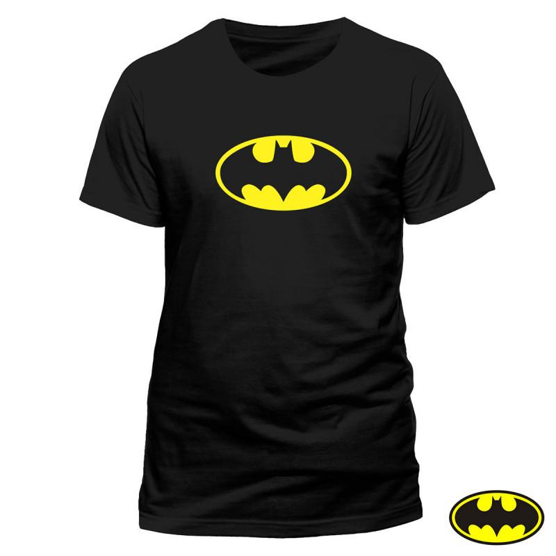 T-shirt Batman DC Comics jaune et noir pour homme sur rapid cadeau 64f596b76bf