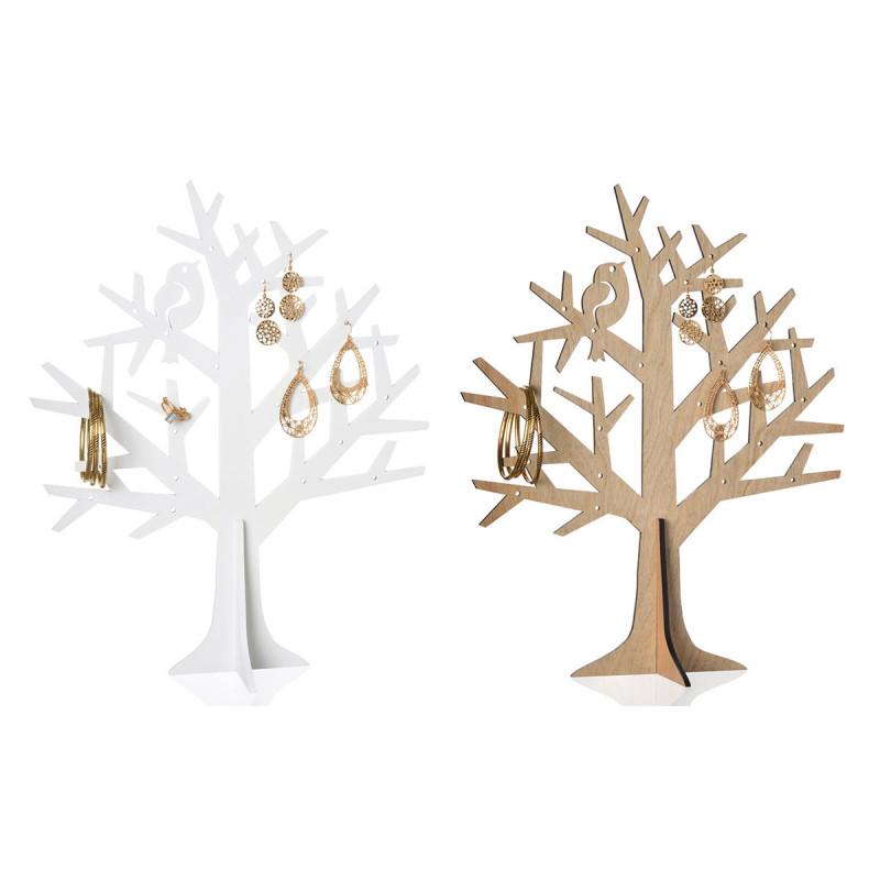 Arbre bijoux pour colliers et bracelets en forme d 39 arbre sur rapid cadeau - Arbre a bijoux en bois ...
