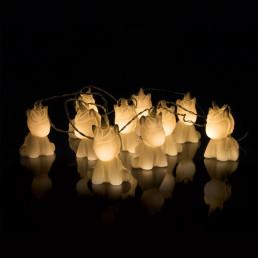 Guirlande Lumineuse Licornes 3D