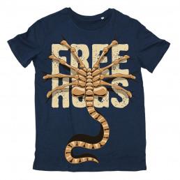 T-shirt Alien Free Hugs