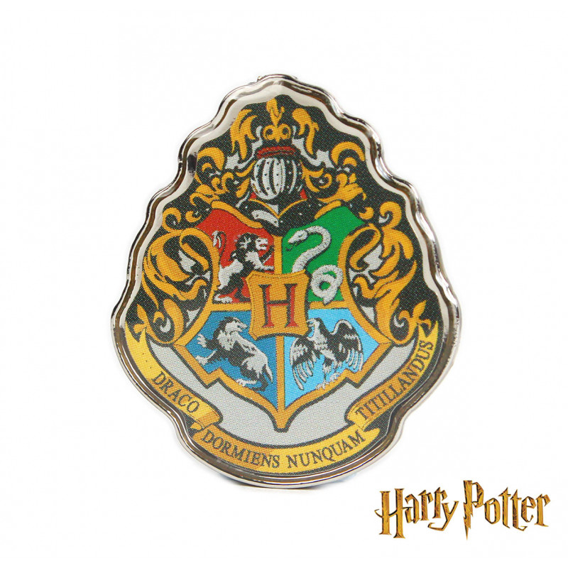 Pin s harry potter avec blason de l cole de magie poudlard sur rapid cadeau - Harry potter blason ...