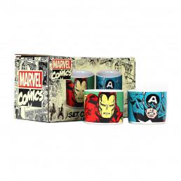 Coquetiers Marvel Iron Man & Captain America