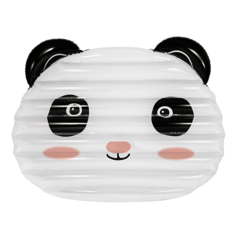 matelas gonflable original en forme de panda blanc et noir sur rapid cadeau. Black Bedroom Furniture Sets. Home Design Ideas