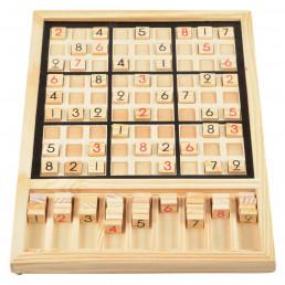Grand Jeu de Sudoku en Bois