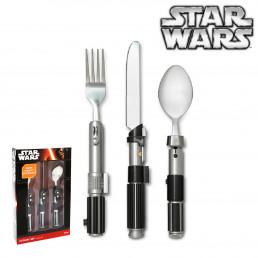 Couverts Star Wars Sabres Laser Dark Vador