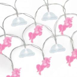 Guirlande Lumineuse Licornes et Nuages